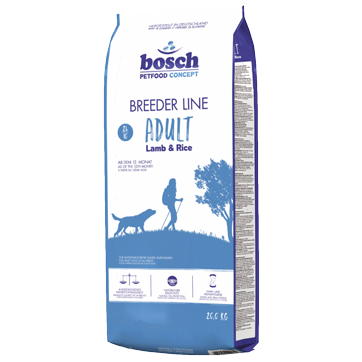 Корм для собак Бош Бридер Ягненок с рисом - купить в Харькове