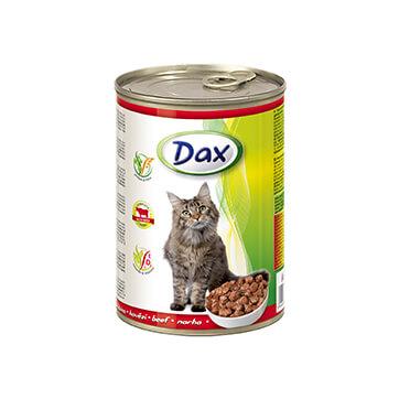 Консервы для кошек Дакс Говядина