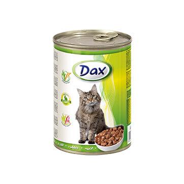 Консервы для кошек Дакс Кролик