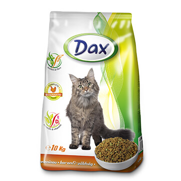 Сухой корм для кошек Дакс Птица