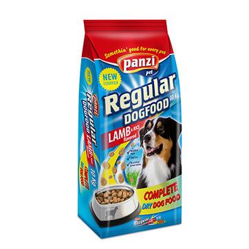 Panzi Эдалт Ягненок и Рис - Сухой корм для собак