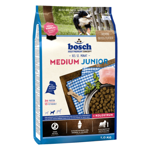 Bosch Medium Junior [вага 1 кг] - Сухий корм для собак