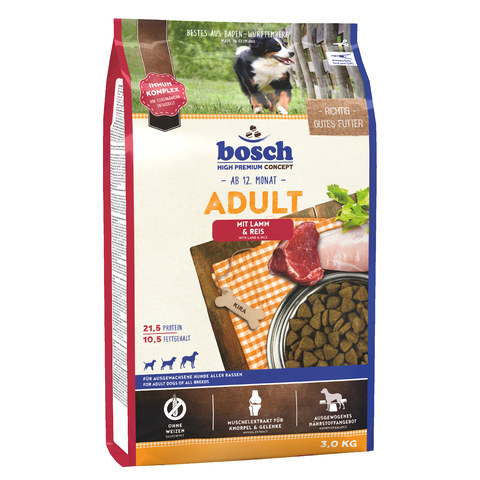 Bosch Adult Lamb & Rice [вага 3 кг] - Сухий корм для собак