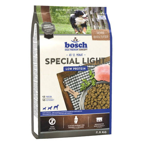 Bosch Special Light [вага 2,5 кг] - Сухий корм для собак
